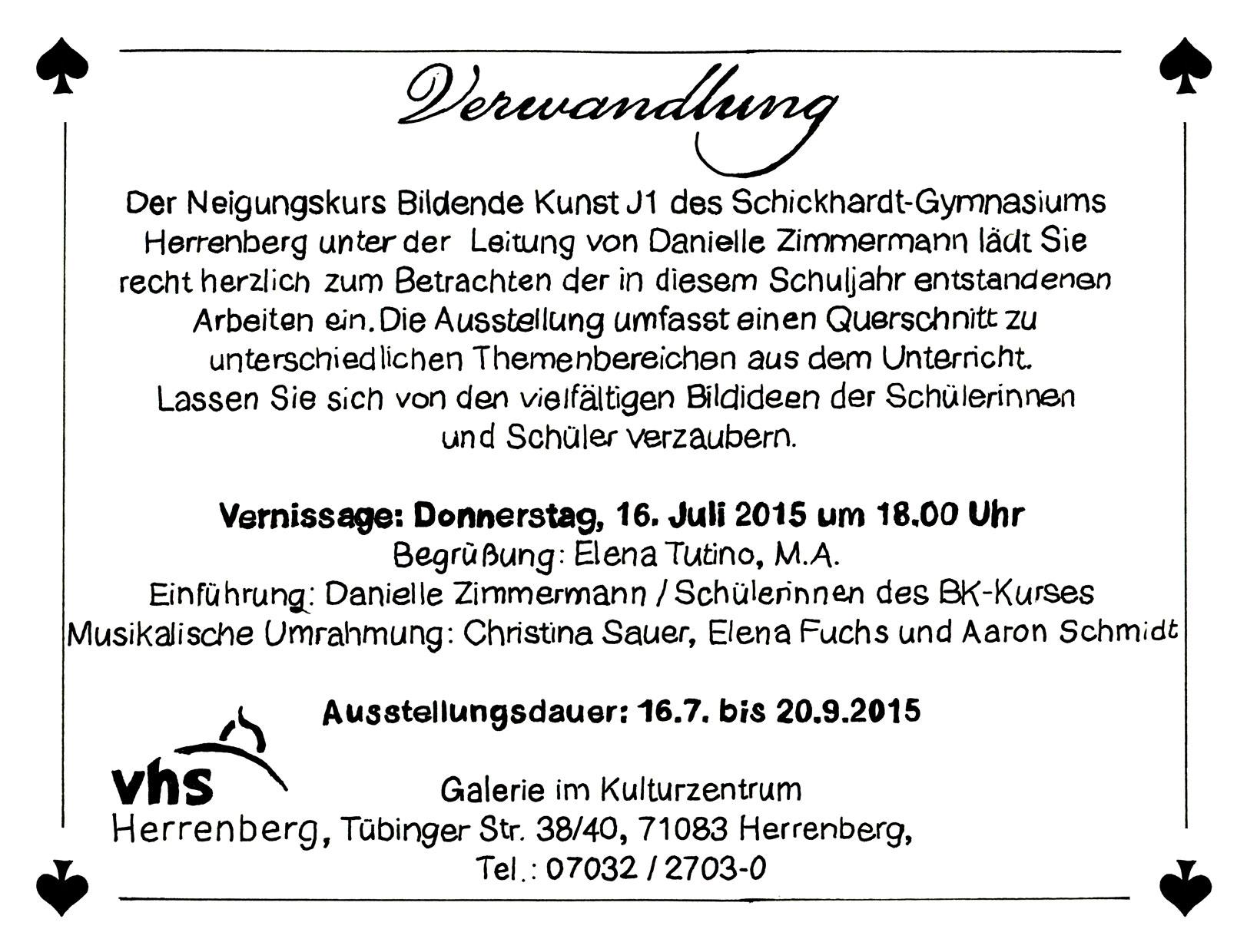 juli | 2015 | schickhardt-gymnasium herrenberg, Einladung